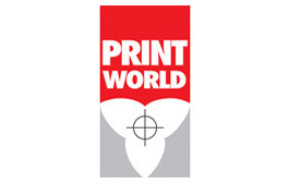 Print world logo